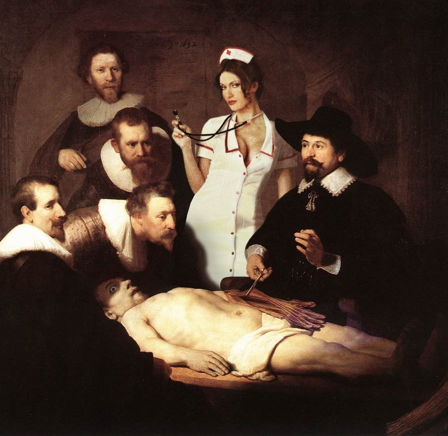 Rembrandt Anatomy Lecture Of Dr Nicolaes Tulp Parodies Variations