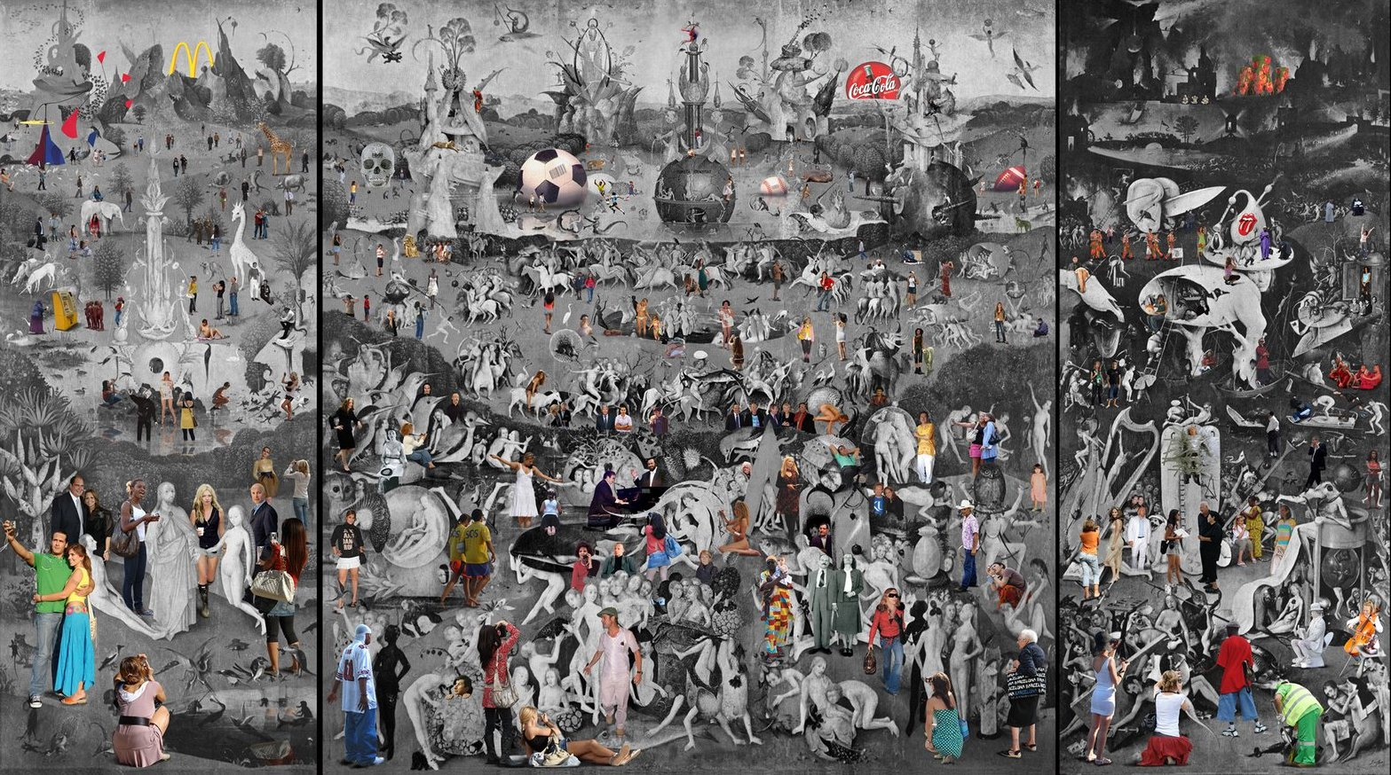 Garden of earthly delights part ii parodies variations for El jardin de las delicias significado