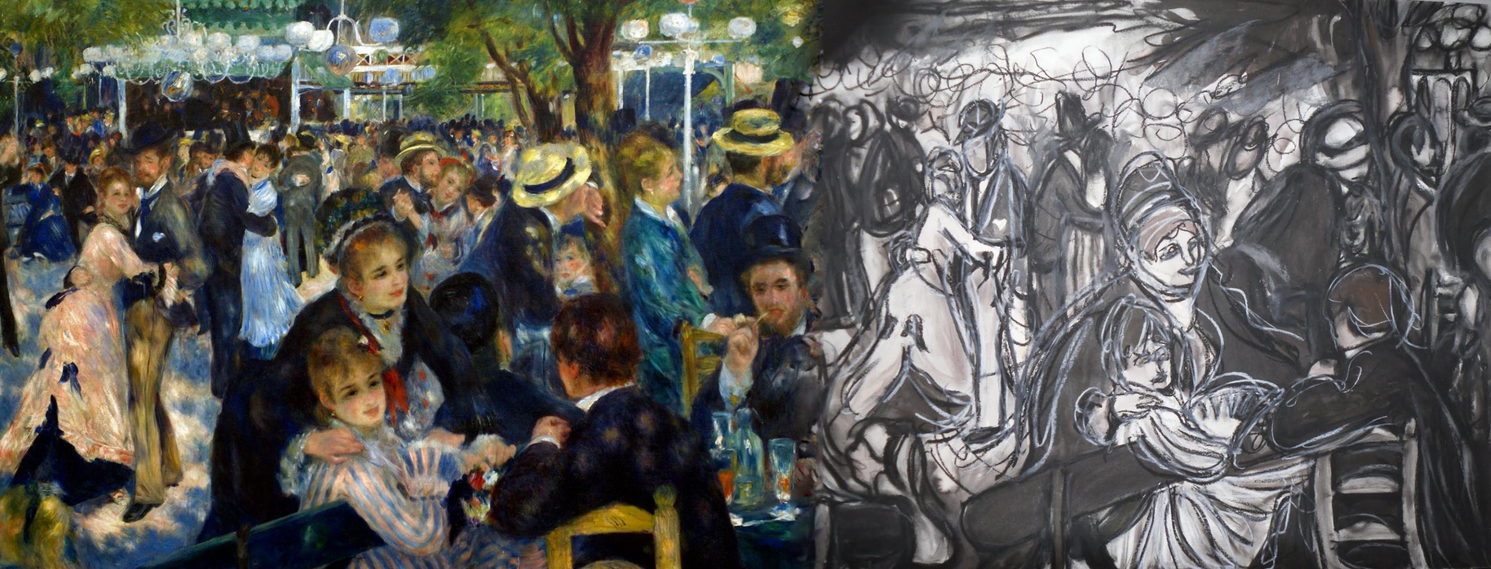 Renoir, Bal du Moulin de la Galette 1876 plus | Parodies & Variations