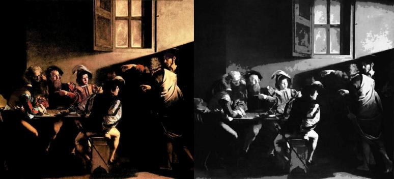 Caravaggio, Calling of Saint Matthew