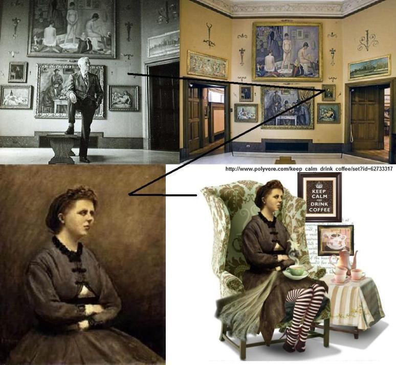 Copy of Corot, Mme de Larochenoire missing