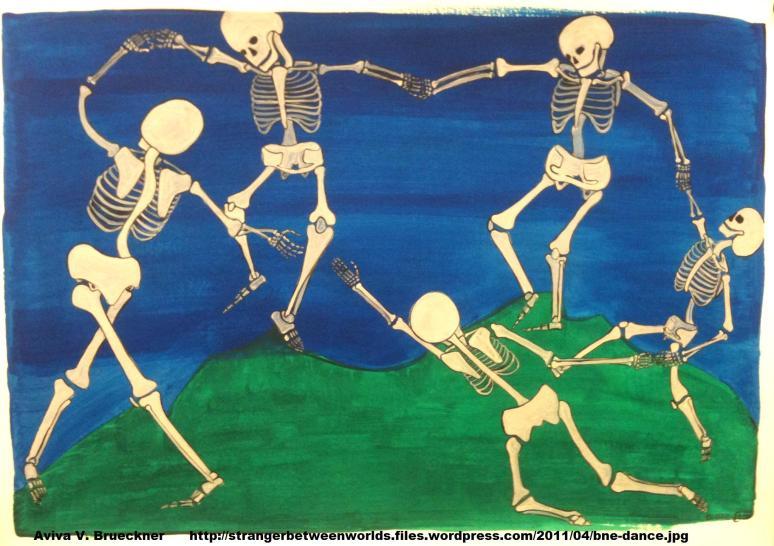 Matisse, The Dance 1909 MoMA bones