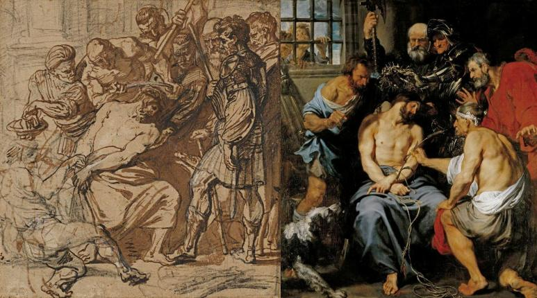 van Dyck, Christ Crowned with Thorns 1618-20