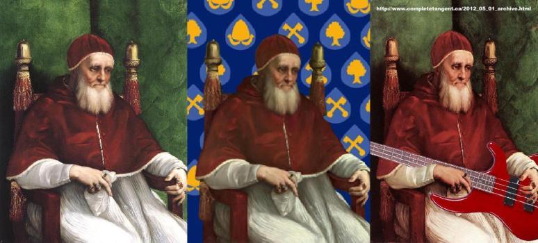 Raphael, Pope Julius II variant