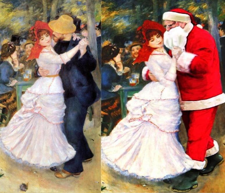 Renoir, Santa Dances at Bougival 1883 Boston MFA