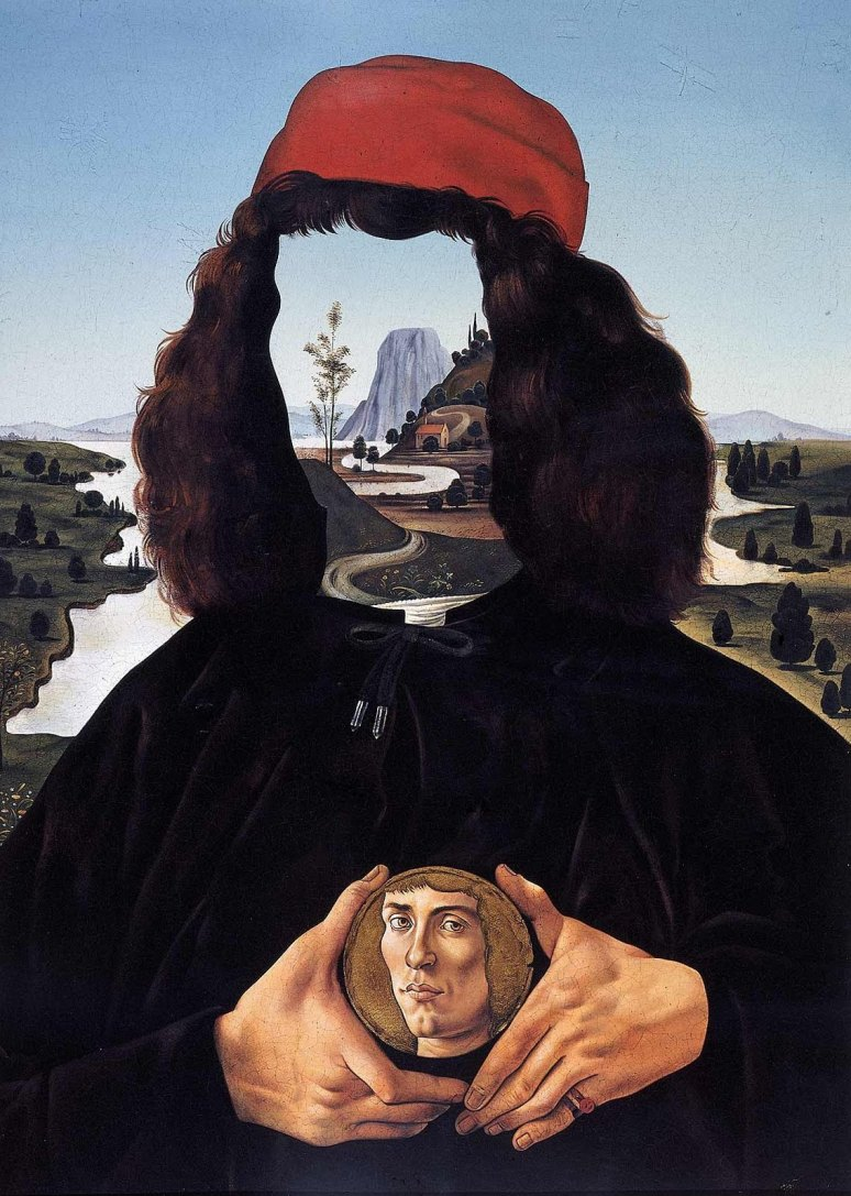 Aghdashloo, Aydin_Identity, In praise of Sandro Botticelli, 1975
