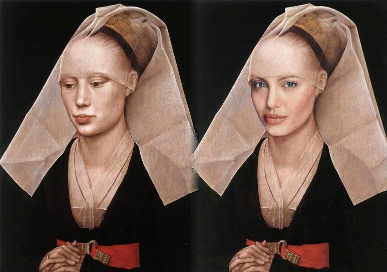 van der Weyden, Portrait of a Lady, Angelina 1455