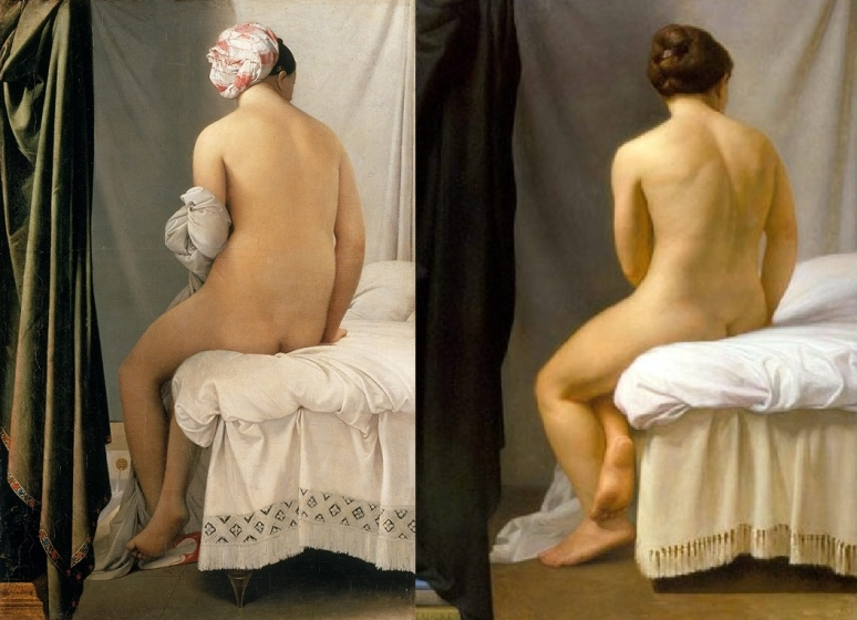 Ingres & Watwood, La Baigneuse