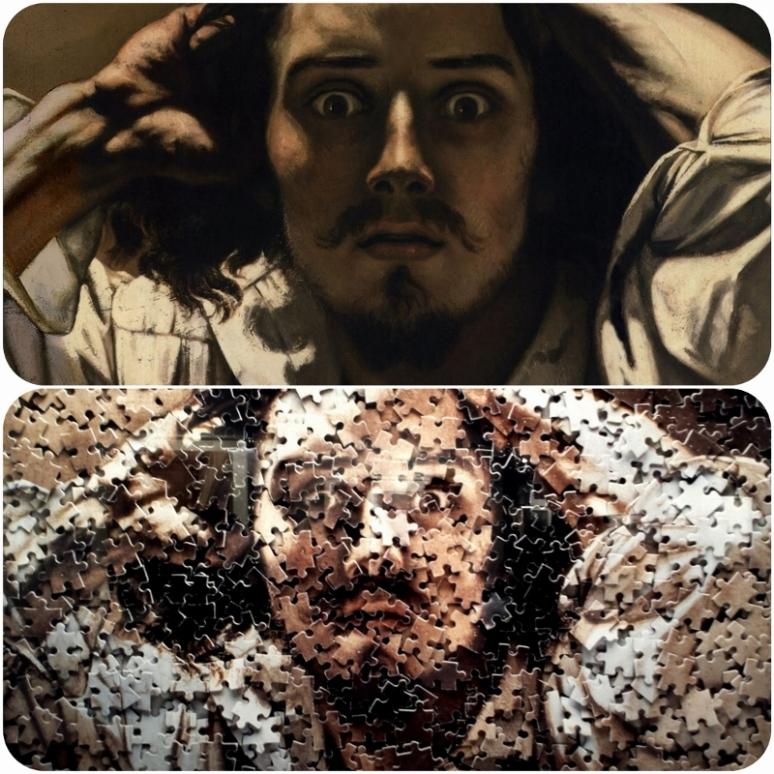 Courbet, The Desperate Man 1843–45 puzzle