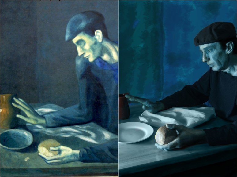 Picasso, The Blind Man's Meal ala Paul O'Brien