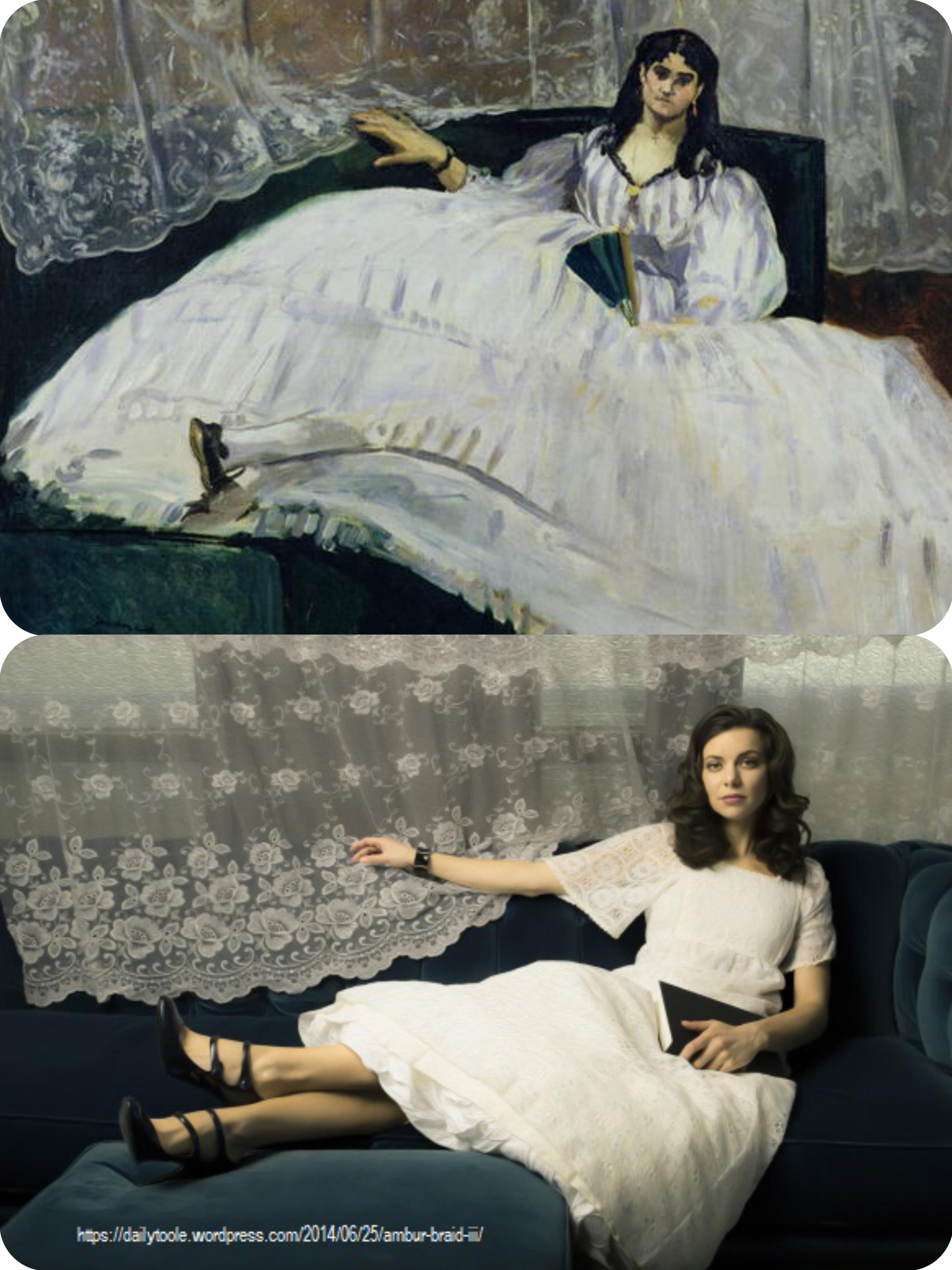 Goya Manet Olympia Jennifer Toole Photo Fotor Collage