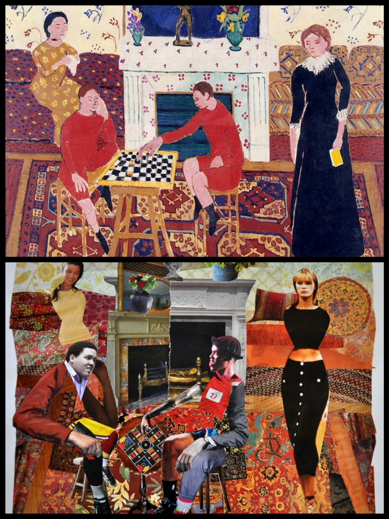 Matisse & Kerfe Roig, The Painter's Family_Fotor_Collage