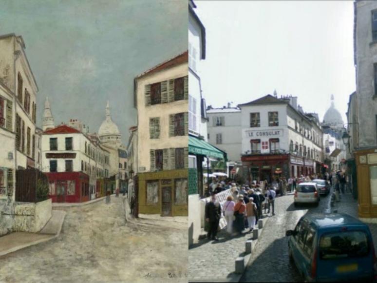 utrillo_la_rue_norvins_a_montmartre 1910
