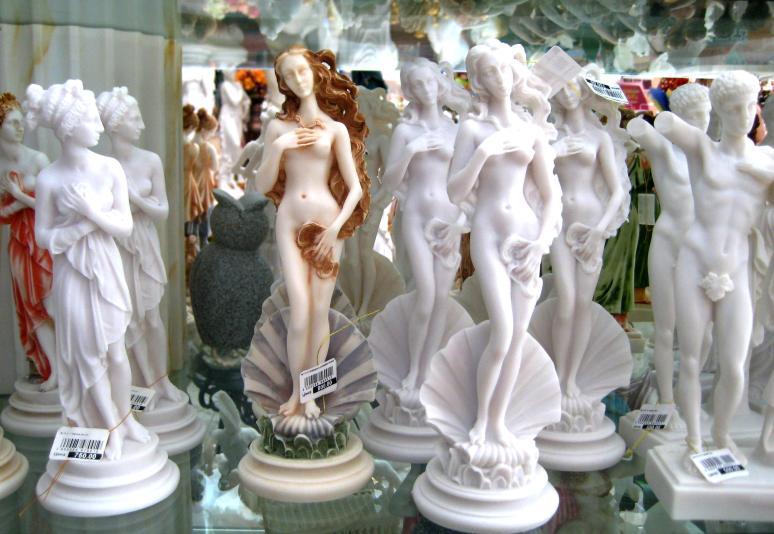Botticelli, Birth of Venus souvenirs
