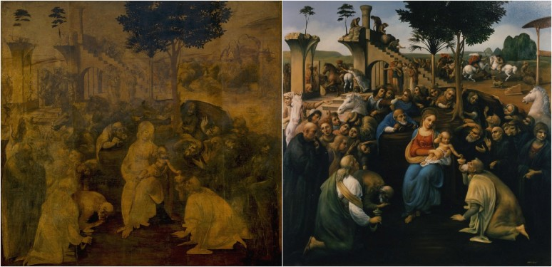 davinci, adoration of the magi uffizi, david jean finished copy_edited